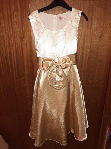 Sukienka 9-10 lat balowa elegancka 140-146cm
