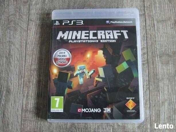 Gra Minecraft na ps3 i więcej + wymianna