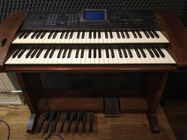Organy Wersi Phon X3 z akompaniamentem