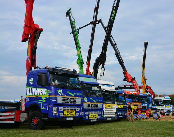 dźwig,transport kontenerów,usługi HDS Katowice i okolice