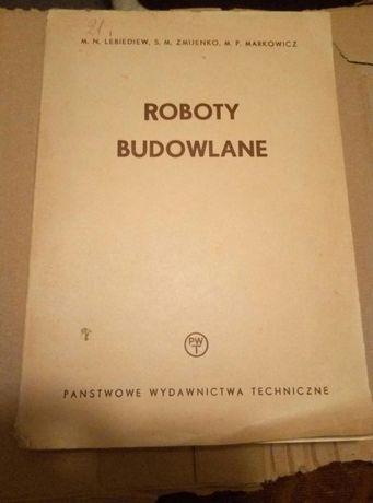 Książka Roboty budowlane
