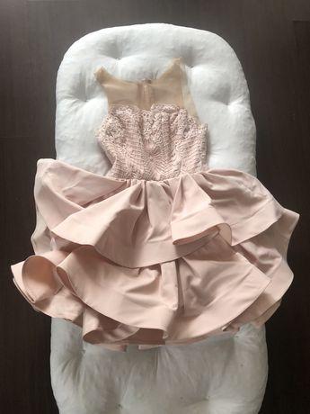 Sukienka różowa Lou