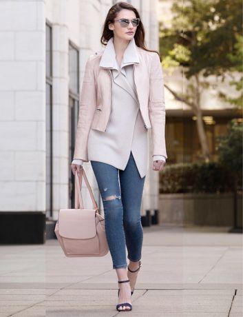 Кожаная куртка Esprit кожанка косуха