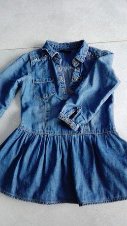 Sukienki dla dziewczynki roz.86