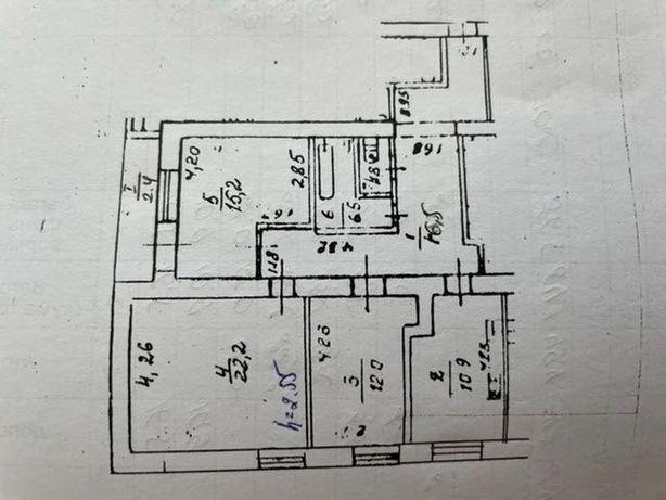 Квартира в Приднепровске 87 м2