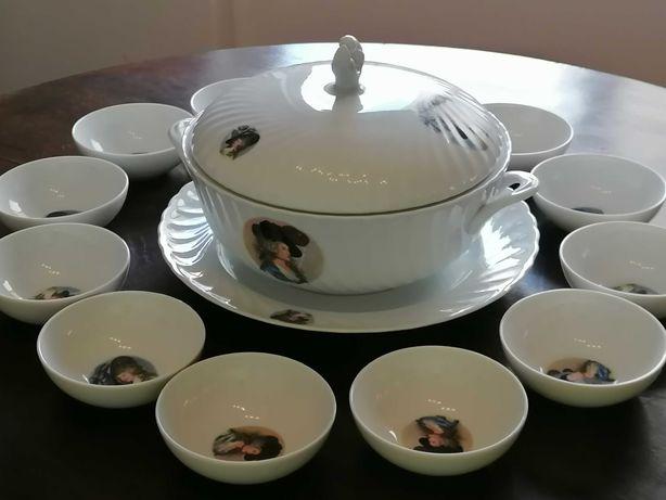 Conjunto JR Porcelanas