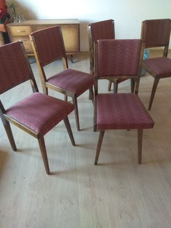 Stare krzesła 5 szt
