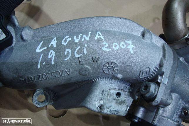 Corpo de admissão Renault Laguna 1.9 Dci