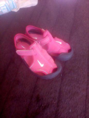 Sandałki różowe rozmiar 23