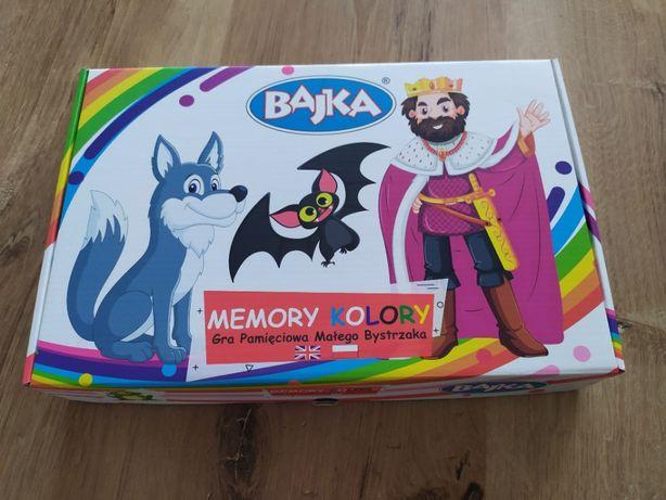 Memory kolory Bajka Gra pamięciowa