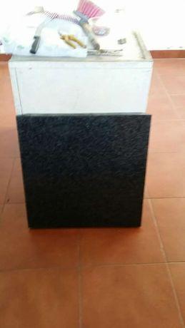 Pedra bancada/cozinha granito preta