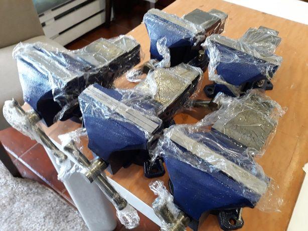 5 Tornos de bancada novos profissional de aço.