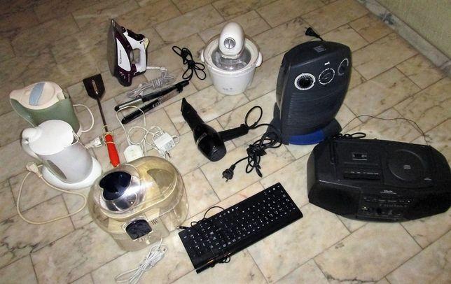 pequenos equipamentos