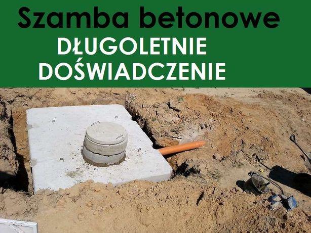 szamba ABRAMOWICE Zemborzyce okrągłe prostokątne 10 m3 10000 l