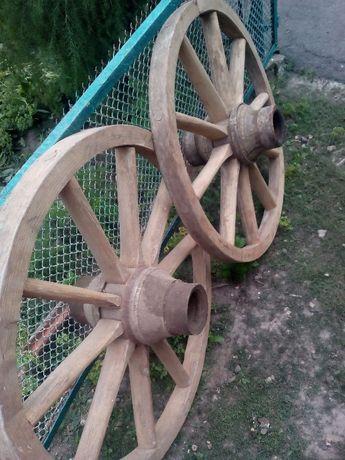 Продам деревянные колеса 70-х годов