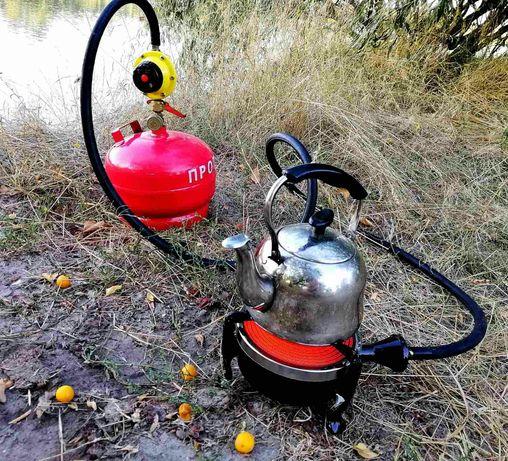 Инфракрасная газовая плита обогреватель для дачи, туризма