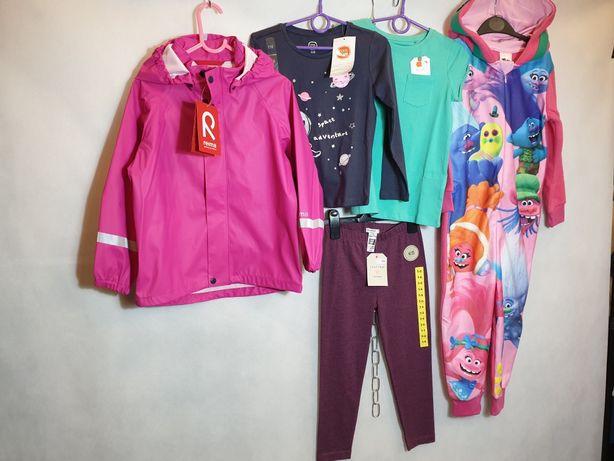 Zestaw r.116 nowe dla dziewczynki marka next , COOL CLUB,Disney,reima