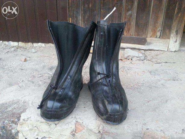 Резиновые Бахилы. Немецкие военные. Обувь для обуви.