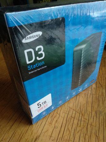 внешний жёсткий диск накопитель Samsung D3 Station Seagate 5TB