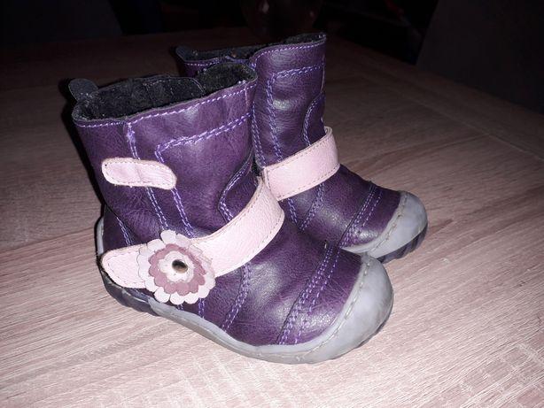 Buty, kozaki skora naturalna Kordecki roz. 21 dl wkładki 13.5