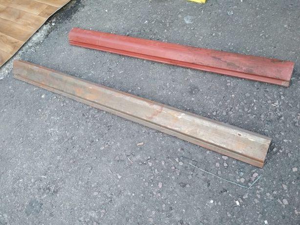 Продам (кузовні деталі) пороги, короба, фартук газ 24 волга.