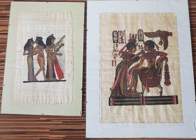 Papirus obraz antyrama oryginał