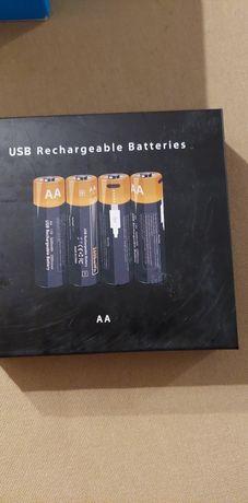 Baterie do ładowania USB