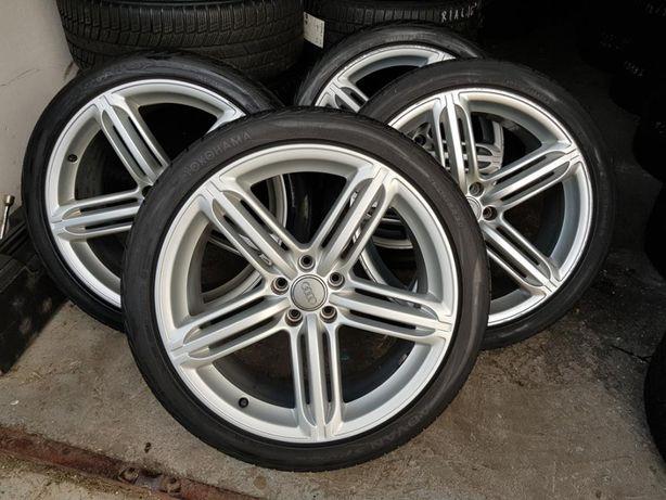"""Koła Felgi do Audi 5x112 Oryginał POMPEI 9J x 20"""" + opony Speedline"""