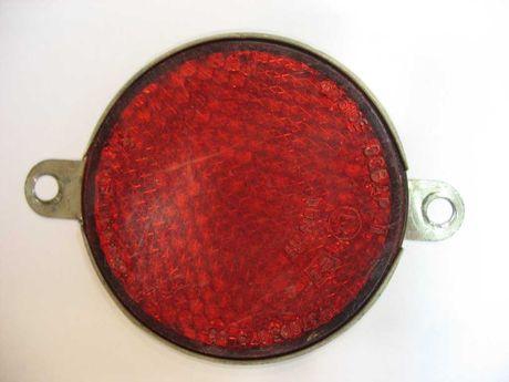 Катафот светоотражатель мотоцикла задний красный ФП310Е ОСВАР СССР