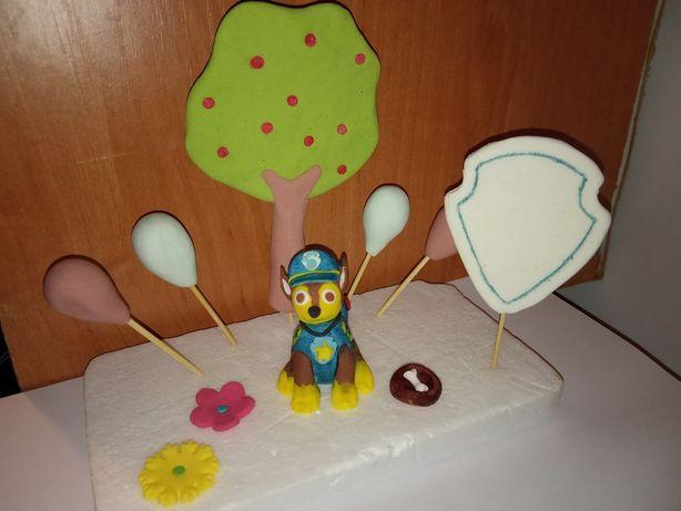 Щенячий патруль фігурки на торт