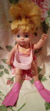 Немецкая плавающая кукла Zapf.
