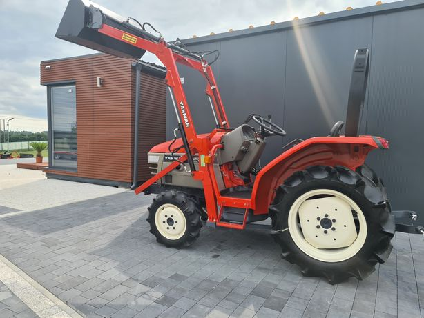 Mini traktor Yanmar AF22,tur,wspomaganie,rewers,ogrodniczy,sadowniczy,