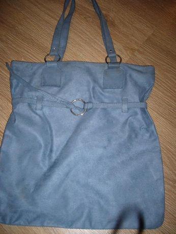 Śliczna niebieska torebka
