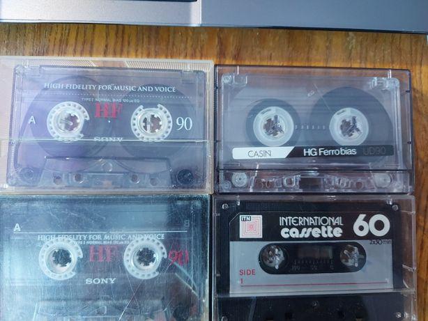 Mix kaset, 4 szt, żelazowe, komplet, db+