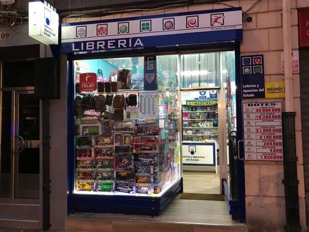 Vendo Livraria e Licença Loteria Nacional, Euro Milhoes e Outros.