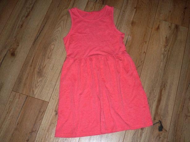 rozm 140 GEORGE sukienka malinowa LATO