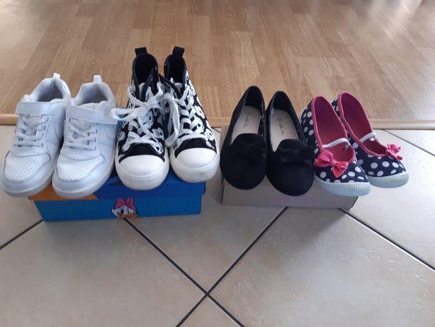 Buty buciki dla dziewczynki Nike Mickey