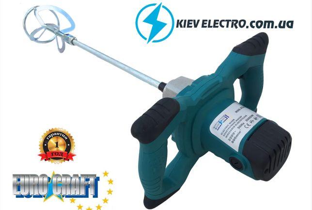 Электрический строительный дрель-миксер Euro craft ECID2 ( 2000w)