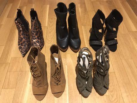 Sandálias de várias marcas: Zara, Mango, Bershka, etc - Tam.37