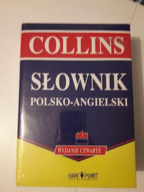 NOWE słowniki COLLINS polsko-angielski i polsko-angielski słownik