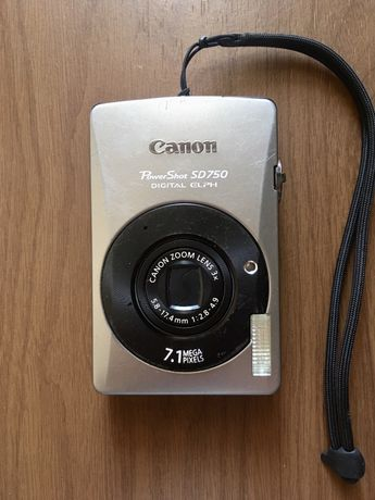 Фотоаппарат Canon Powershot SD750