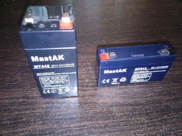 Аккумуляторы (MT445 4V 4.5AH/20HR), (MT613 6V-1.3Ah/20HR)