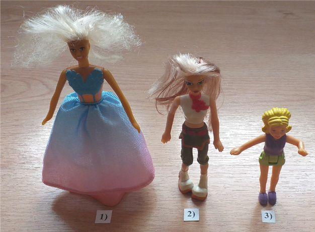 3 lalki, laleczki z zestawu McDonald's - całość za jedyne 25 zł! :) :)