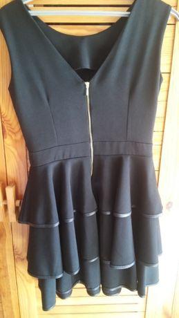 Sukienka czarna - rozmiar 38
