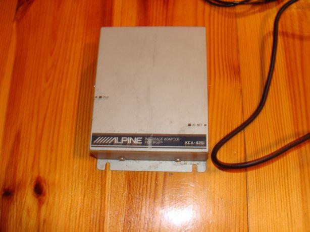 Aipine KCA-420i + Przjściówka do ip4