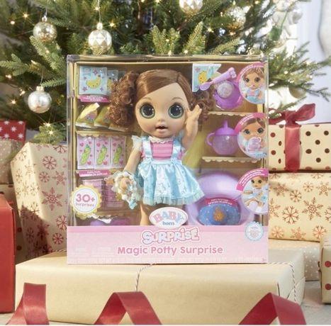 Кукла Baby Born Surprise Magic Potty Surprise Doll
