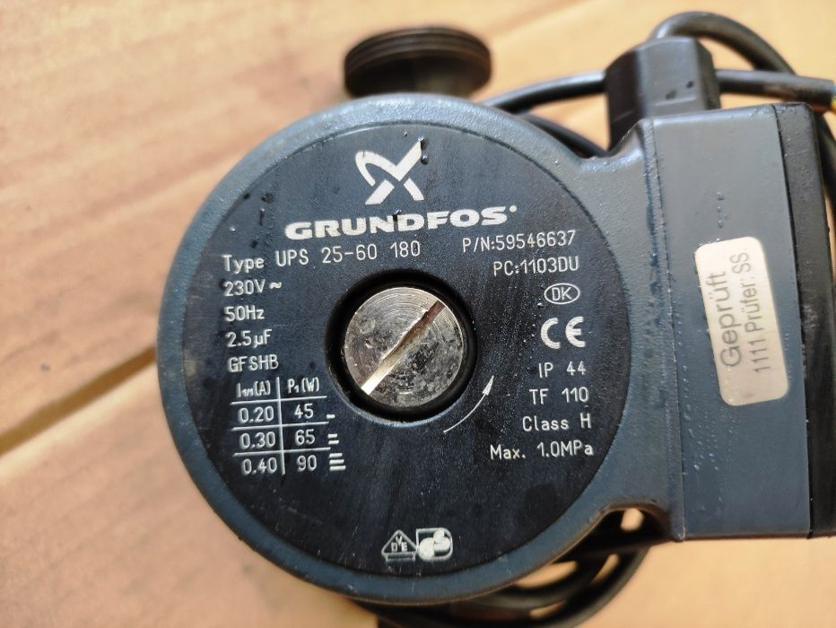 Pompa obiegowa wody GRUNDFOS 25 60 Lisów - image 1