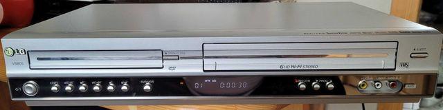LG V8805 dvd vhs combo odtwarzacz