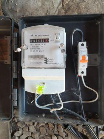 Счётчик электричества в идеальном состоянии не бит не крашен
