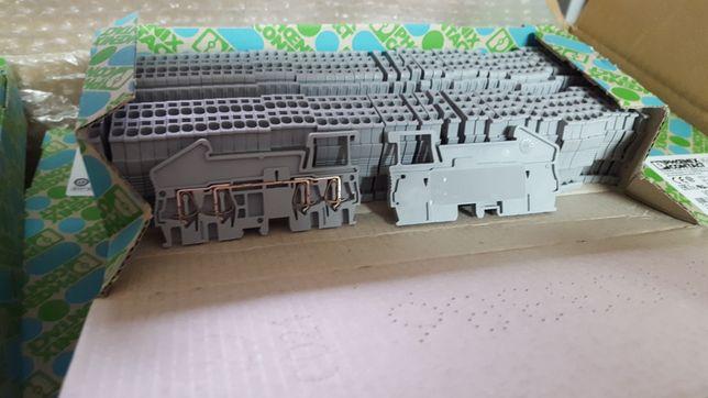 Phoenix Contact ST 1,5 QUATTRO Złączka szynowa przelotowa 50 szt.